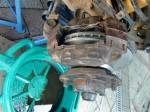 Bremssattel mit neuer Scheibe, Radlager und neuen Bremskolben